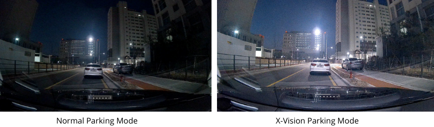 X-Vision Parking Mode