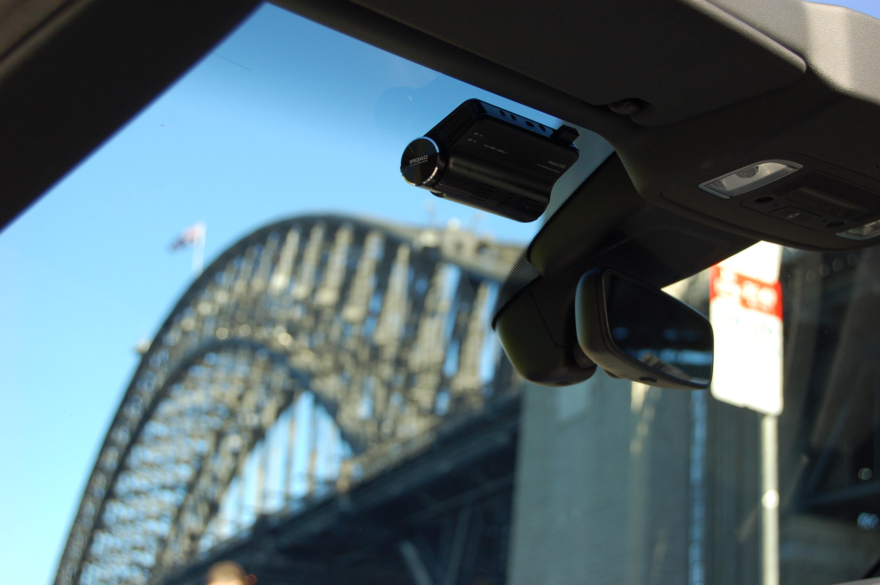 X10 Dash Cam on Car